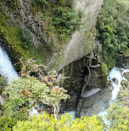 Baños et ses cascades