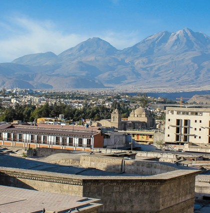 Arequipa, on pose nos valises