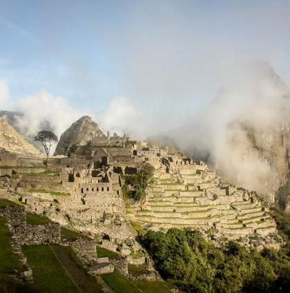 Le fameux Machu Picchu