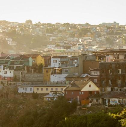 Valparaiso, coup de foudre coloré