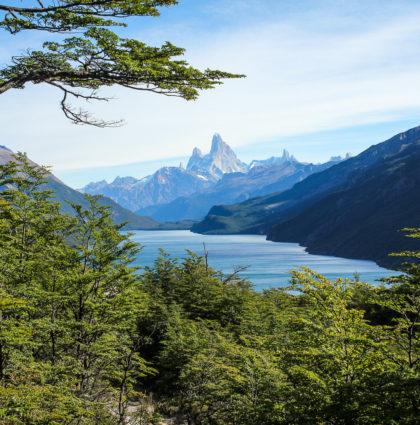 A pied entre le Chili et l'Argentine